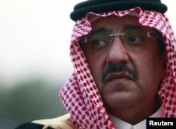 Saudi Deputy Crown Prince and Interior Minister Prince Mohammed bin Nayef bin Abdul Aziz , October 20, 2012.