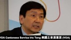 香港大學法律學院教授陳文敏 (攝影﹕美國之音湯惠芸)