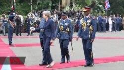 Theresa May amesema kwamba Serikali ya Uingereza itatoa msaada kwa wanajeshi wa kenya nchini Somalia