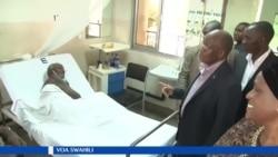 Rais Magufuli wa Tanzania atembelea hospitali ya Muhimbili