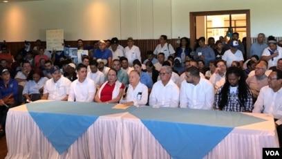 Nicaragua: Oficializan coalición nacional opositora