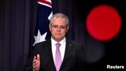Scott Morrison, primeiro-ministro