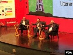 لاہور ادبی میلے کے ایک سیشن کے مقریریں - 23 فروری 2020