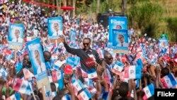 Perezida Paul Kagame, Umukandida w'Ishyaka FPR Inkotanyi