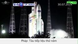 Tàu tiếp liệu thứ 5 của Cơ quan Vũ trụ châu Âu đến Trạm Không gian QT