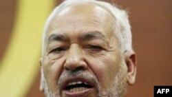 Лидер исламской партии Туниса «Нахда» Рашид Ганнуши