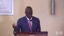 Prezidan Jovenel Moise ensiste pou l gen yon dyalòg opozisyon an sou kriz politik la