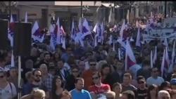 2012-11-06 美國之音視頻新聞: 希臘工人開始舉行48小時大罷工