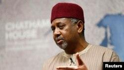 Sambo Dasuki, ancien conseiller à la sécurité nationale du Nigeria sous la présidence de Goodluck Jonathan. REUTERS/Andrew Winning