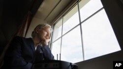 Julian Assange se refugió en la embajada de Ecuador en Londres el pasado 19 de junio.