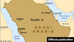 Saudi Arabia - map