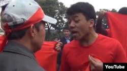"""Gần một tuần sau tuyên bố của Thiếu tướng Chung, công an Hà Nội vẫn chưa thông báo đã """"xác minh"""" được những người áo đỏ hay chưa."""