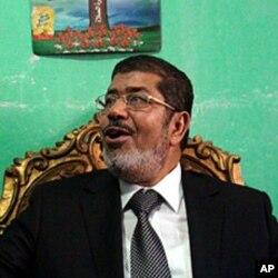"""""""Musulmon birodarlar"""" partiyasidan prezidentlik uchun nomzod - Muhammad Mursiy"""