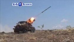 VOA60 DUNIYA: YEMEN Dakarun Gwamnati da 'Yan Tawayen Houthi Sunyi Arrangama a Dutsen Nehm