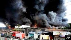 Giao tranh ác liệt tiếp diễn ở miền nam Philippines