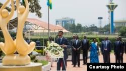 Ni ku nshuro ya 22 Abanyarwanda bibuka intwari z'igihugu