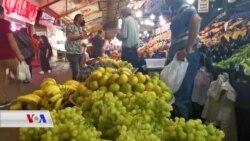 Bikir ji Buhabûna Bazara Fekî û Keskahîyan li Eneqerê Gazincan Dikin