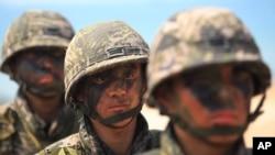 Latihan militer Thailand