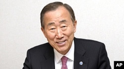 联合国安理会推荐再次选举潘基文连任联合国秘书长(资料照片)