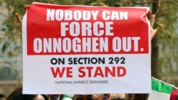 Les Nigérians marchent pour dénoncer les violences envers les femmes