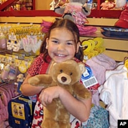 Ashlee Smith was named one of Build a Bear Workshop Company's 'Huggable Heroes' for her dedication to helping children.