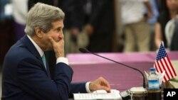 Ngoại trưởng Mỹ John Kerry tới Naypyidaw vào ngày 9/8 để tham dự các cuộc họp của ASEAN.