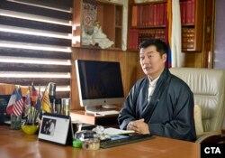 """藏人流亡政府""""藏人行政中央""""司政洛桑森格"""