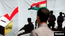 منطقه خود مختار کردستان عراق به تاریخ ۲۵ سپتمبر در مورد کسب استقلال از بغداد همه پرسی برگزار کرد.