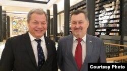 Адас Якубаускас и Имантас Мелянас