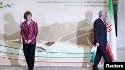 Visoka predstavnica EU Ketrin Ešton i glavni iranski pregovarač Said Džalili