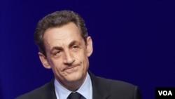 Cựu Tổng thống Pháp Nicolas Sarkozy.