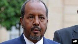 Le président Hassan Cheikh Mohamoud (AP)