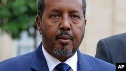 Shugaban Somalia Hassan Shaikh Muhammad