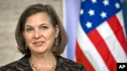 FILE - U.S. Assistant Secretary of State Victoria Nuland