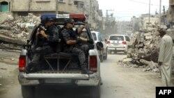 Gazze'de BM Genel Sekreteri Ban Ki Moon'u taşıyan konvoy