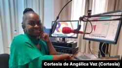Angélica Vaz, jornalista cabo-verdiana