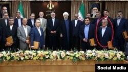 اسوشیتدپرس می گوید عضو محکوم شده، «عبدالرسول دری اصفهانی» است.