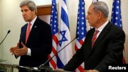 Керрі (л) і Нетаньягу в Єрусалимі