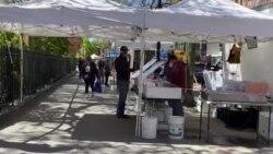 VOA: EE.UU. NYC Vuelta de vendedores ambulantes