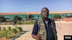 José Mateus Zecamutchima, presidente do Movimento do Protectorado Lunda Tchokwe