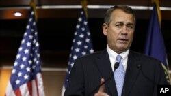 Fiscal Cliff Boehner