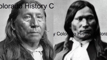 The University of Colorado plans to name two of its dormitories after Native American chiefs Hosa (left) and Niwot of the Arapaho.