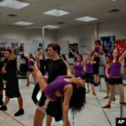 Chantilly High School's 'Touch of Class' was voted America's Favorite Show Choir in an online competition that drew over 1,000 entries.