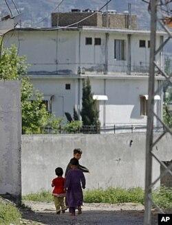 ایبٹ آباد میں اُسامہ بن لادن کا گھر جس کو اب مسمار کر دیا گیا ہے۔