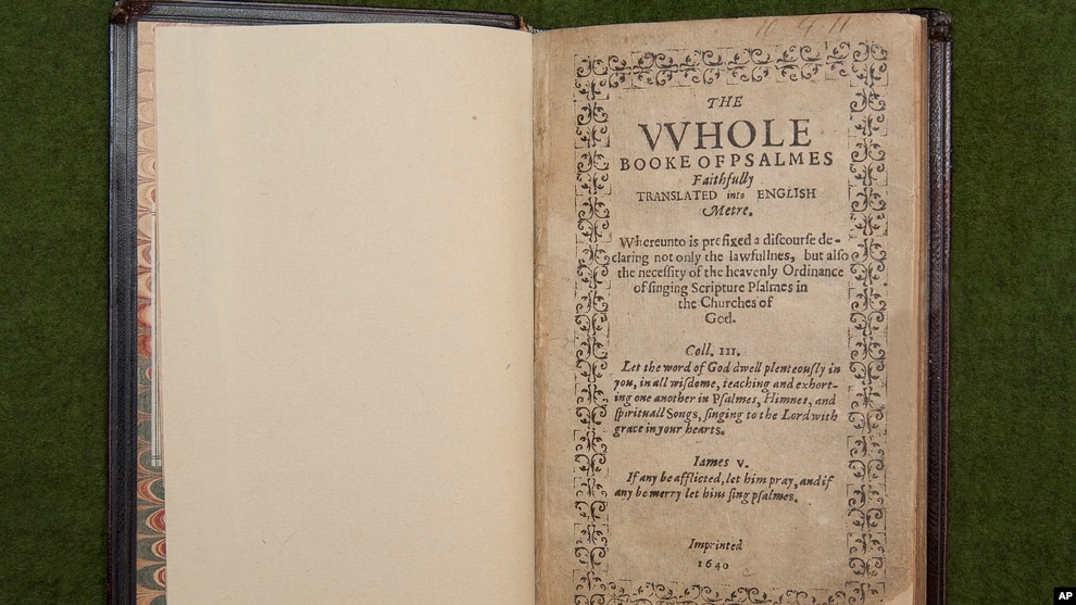 Early American Religious Book Breaks Record at Auction