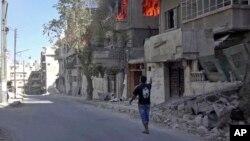 Thành phố Aleppo, Syria.