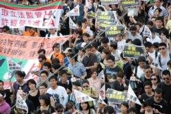 香港社運團體將以更激進方式在7月1日抗爭