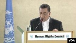 از پیش از حضور علیرضا آوایی، نهادهای حقوق بشری به حضور او معترض بودند.