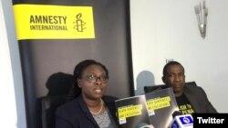 Lancement du rapport sur la peine de morts et les exécutions au Nigeria, le 12 avril 2018. (Twitter/Amnesty International Nigeria)