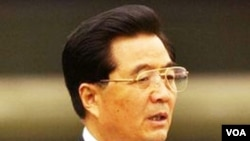 Presiden Tiongkok Hu Jintao.